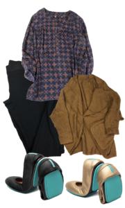 teacher outfits, teacher style, what the teacher wore, Tieks, Tieks ballet flats
