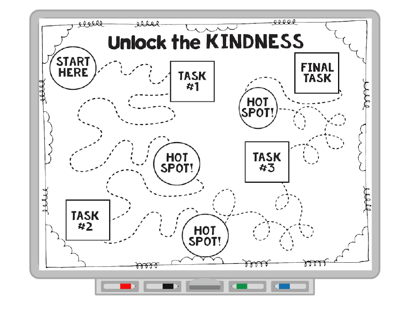 Character Education lesson on kindness and what it means to be kind. Perfect for PBIS lessons and PBIS lesson plans.