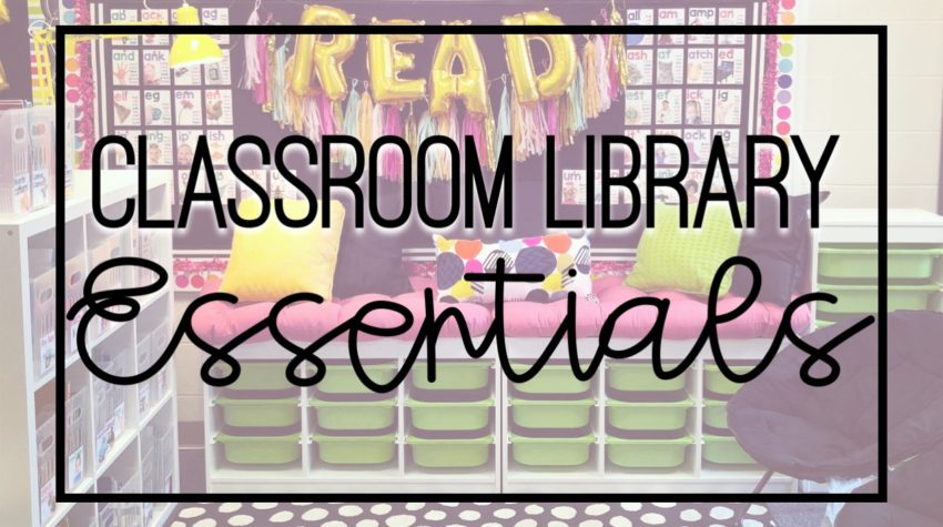 Working on your classroom library? Looking for ideas to make your classroom library amazing? Here is a list of library must haves for every elementary classroom!