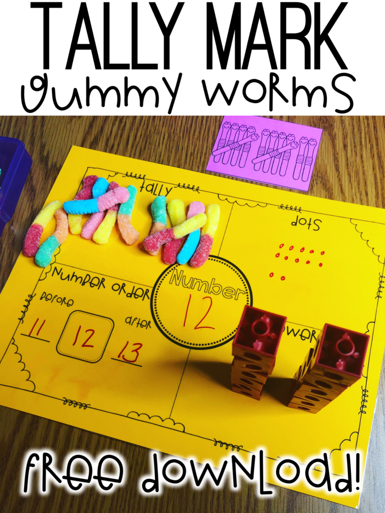 Tally mark free download. Free download for tally mark lesson and teaching number sense.