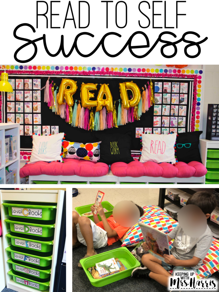 Read to Self Success - Ready to teach your students how to read independently? Struggling to set up expectations for reading to self? Here are a few tips to help your Read to Self be successful!