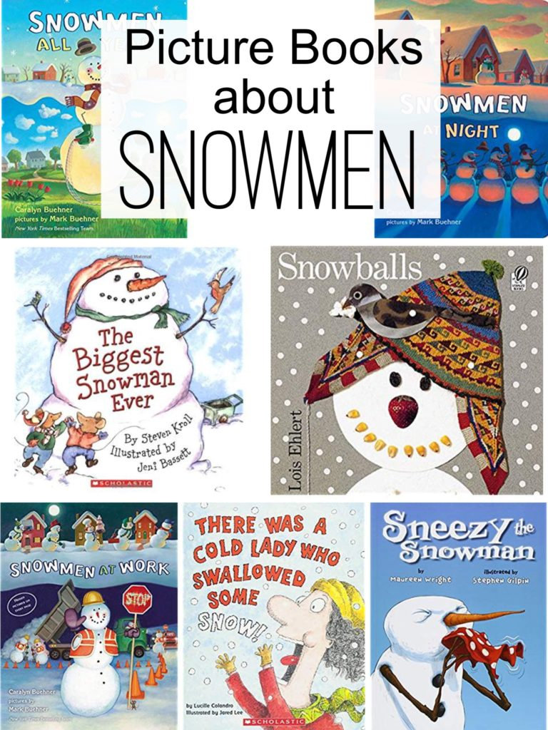 Snowman Activities - Books about snowmen for the primary classroom.  These snowmen books are perfect for snowman activities for the elementary classroom.