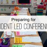 Preparing for Student Led Conferences