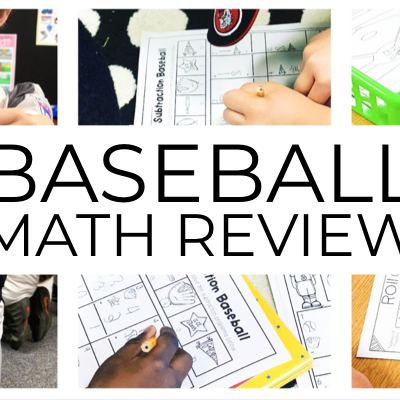 Baseball Math Review