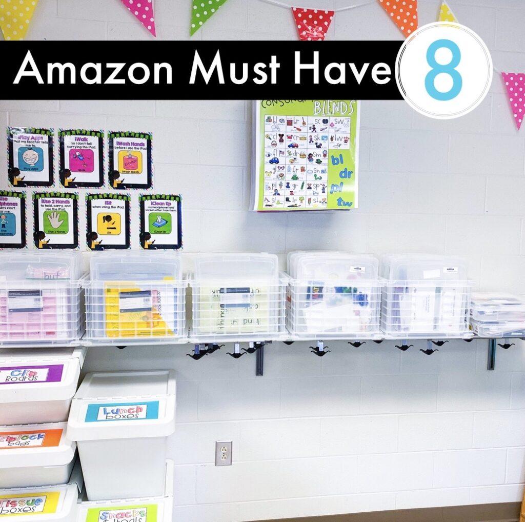 Amazon Classroom Must Have - Classroom storage