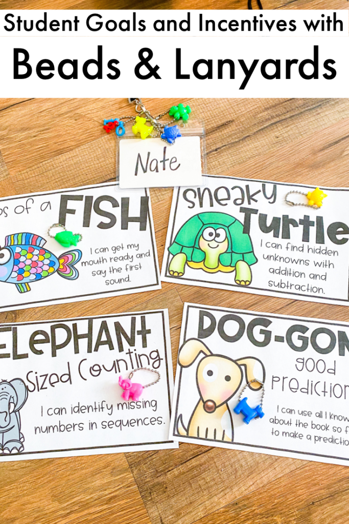 Celebrate student learning and goal setting with your students.  This is an awesome alternative to brag tags.