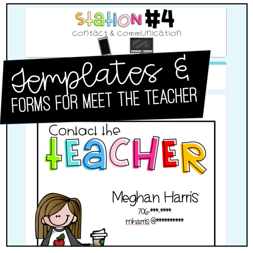 Virtual Meet the Teacher doesn't have to be overwhelming!  Let me break it down for you step by step!