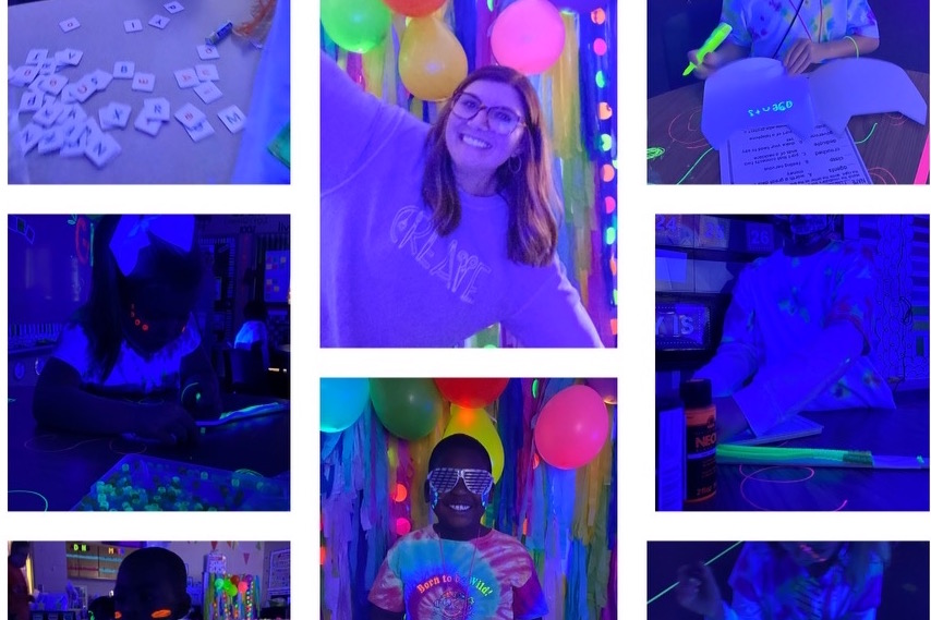 Glow Party during Covid